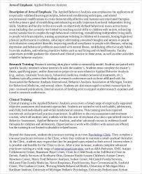 Applied Behavior Analyst Sample Resume | Cvfree.pro