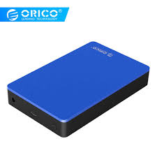 "<b>ORICO</b> Aluminum <b>3.5</b>"" USB3.0 to SATAIII Case External Hard Disk ..."