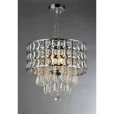 antoinette 3 light chrome crystal indoor chandelier