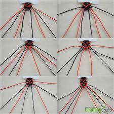 braid the love heart shape pattern
