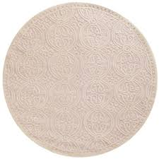 safavieh cambridge light pink ivory 4 ft x 4 ft round area rug