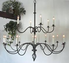 wrought iron chandalier wrought iron candle chandelier uk black
