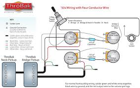 gibson les paul p90 wiring diagram gibson image throbak 50 s 4 conductor wiring on gibson les paul p90 wiring diagram