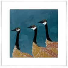 canadian geese wall art