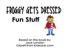 Small Picture FREE Froggy Gets Dressed Clothing Props the mother and Froggy