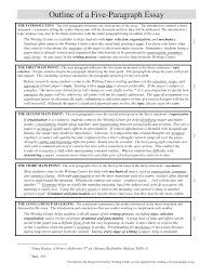 Outline For Five Paragraph Essay What Is A 5 Paragraph Essay Under Fontanacountryinn Com