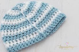 Baby Beanie Crochet Pattern Inspiration Newborn Beanie Crochet Pattern Loganberry Handmade
