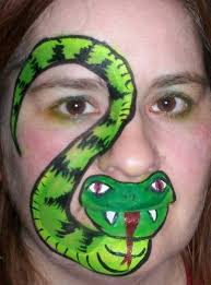 free face painting instructions face painting designs snake face painting design