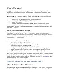 What Is Plagiarism Plagiarism Citation