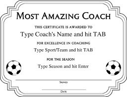 soccer awards templates award certificate templates