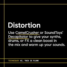 Flume Sound Design