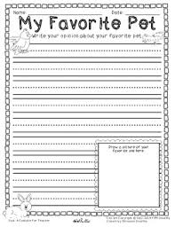 opinion writing and graphic organizer my favorite pet sample by  opinion writing and graphic organizer my favorite pet sample