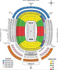 Green Bay Packers Seating Chart Seat Views Tickpick