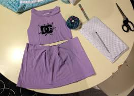 girls tshirt dress diy