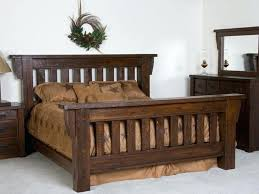 full size of rustic wood bed frames canada cal king frame diy building decorating appealing top