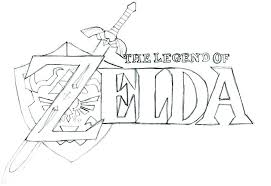 Legend Of Zelda Coloring Pages Mesmerizing Coloring Pages Link