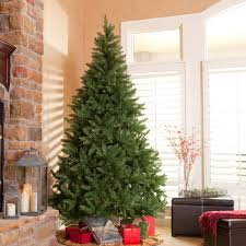Classic Pine Slim Pre-lit Christmas Tree | Hayneedle