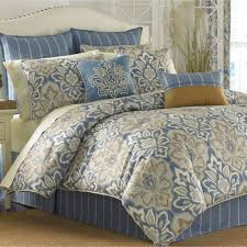 captains quarters comforter set federal blue