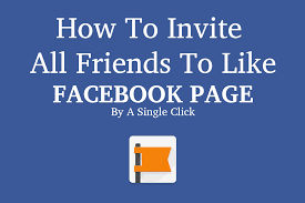 invite all your friends to like your facebook page single 2017 video