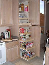 to enlarge kitchen pantry cabinet slide out shelves