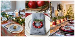 Christmas Table Setting 45 Best Christmas Table Settings Decorations And Centerpiece