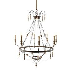the gray chandelier is perfect for a dining room bedroom or elegant master bath aidan lighting