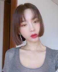 韓国ボブのトレンド2018オルチャンは前髪アリナシどっちがかわいい