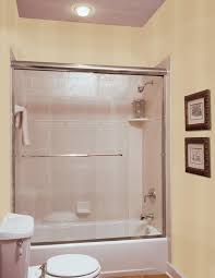 framed glass sliding tub doors