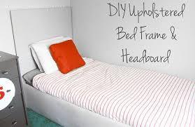 diy upholstered bed. DIY Upholstered Bed Frame \u0026 Headboard Diy