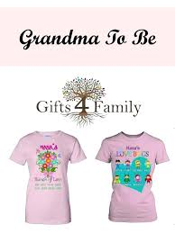 gifts for grandma to be from new baby present uk personalised mothers day