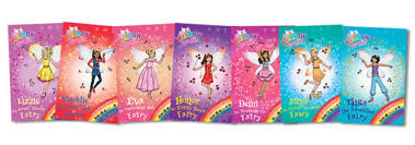 Small Picture Rainbow Fairies Coloring Coloring Pages