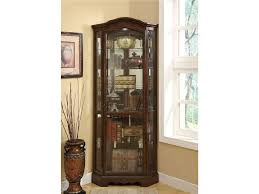 Living Room Corner Furniture Coaster Corner Bookcase Curio Cabinets Walmart Ideas For Living