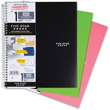 Mea06190 Mead 1 Subject Graph Ruled Notebook Letter Office