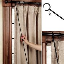image of wrought iron dry rods and finials