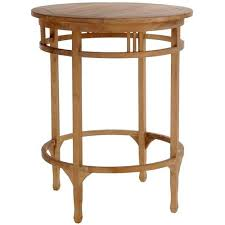 tall counter chairs. Medium Teak Orleans Bar Table - Chic Tall Counter Chairs