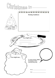 Christmas Around The World Worksheets Free Worksheets Library ...