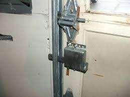 garage door locks garage door lock simple garage door lock natural manual locking mechanism has your garage door locks