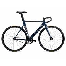 Mataro Fixie Single Speed Bike Midnight Blue