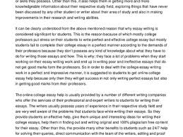 writing college essays examples of college essayssummer camp online college essay help best way to deal college
