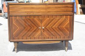 French Art Deco Exotic Macassar Ebony Bar Cabinet, circa 1940s at ...