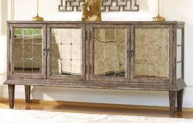 Mirrored Furniture Living Room Hooker Furniture Living Room Devera Mirrored Console 638 85082