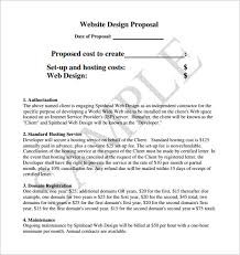 Technical Proposal Templates Website Design Bid Technical Proposal Sample Textingofthebread Com