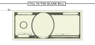 Money Bill Template Free Blank Dollar Bill Download Free Clip Art Free Clip Art On