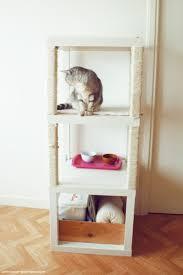 Ikea Lack Shelf Hack Cat Tree With Ikea Lack Ikea Hackers Ikea Hackers