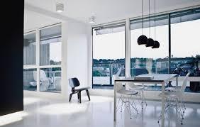 modern loft furniture. Minimalist Black White Modern Loft Furniture Interior Design Y