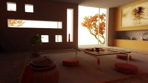Zen Living Room Furniture Artistic Furniture Design For Zen Living Room With Pads And Low