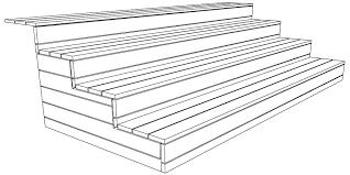 Holz ist im treppenbau neben naturstein das älteste verwendete material. Treppe Aus Holz Fur Die Terrasse Bauen Bauanleitung
