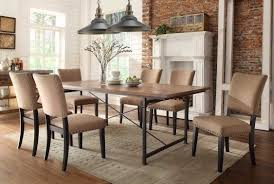 Rustic Farmhouse Table Dark Brown Wooden Rectangular Table Dark - Dark wood dining room tables