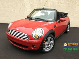 2009 MINI Cooper Convertible Feasterville PA 22978890