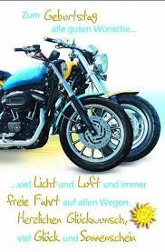 Alles Gute Zum Geburtstag Männer Motorrad Ribhot V2